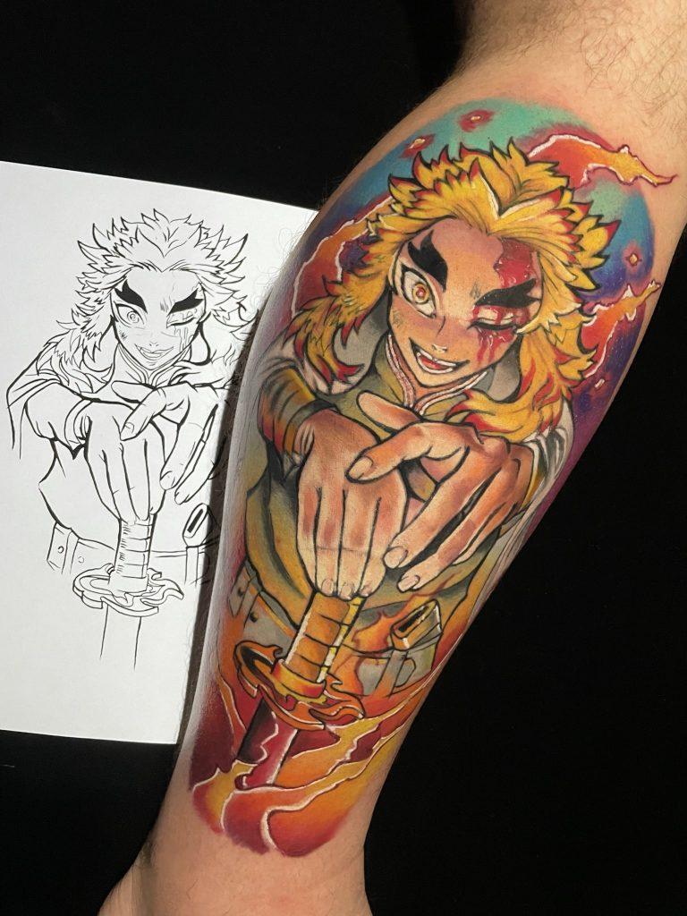 Foto de tatuagem feita por Rafael Schreiber (@rafael_inked)