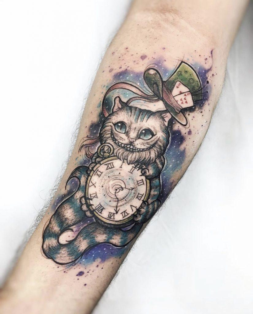 Foto de tatuagem feita por Nath Corrêa (@nathaliatattoo)